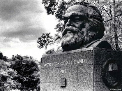 [Karl Marx Tomb, Highgate Cemetery, London]